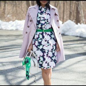 💼Banana Republic Floral Button Down Shirt Dress
